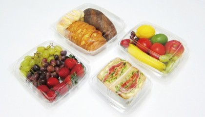 FRESH VIEW PET HINGED FOOD CONTAINERS
