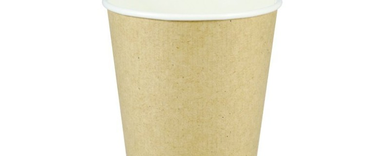 16oz Double Wall Cup – Light Brown