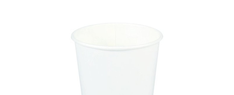 8oz White Plain Paper Hot Cup