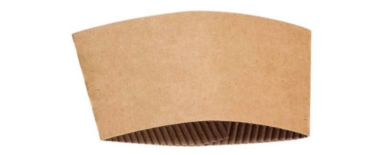 Brown Kraft Cup Sleeve